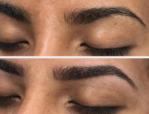 Mix natural makeup